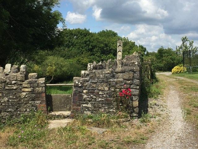 Public Footpath and Farm Track