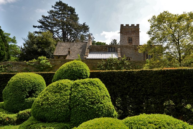 Chastleton House and Garden: The Best Garden and St. Mary's Church