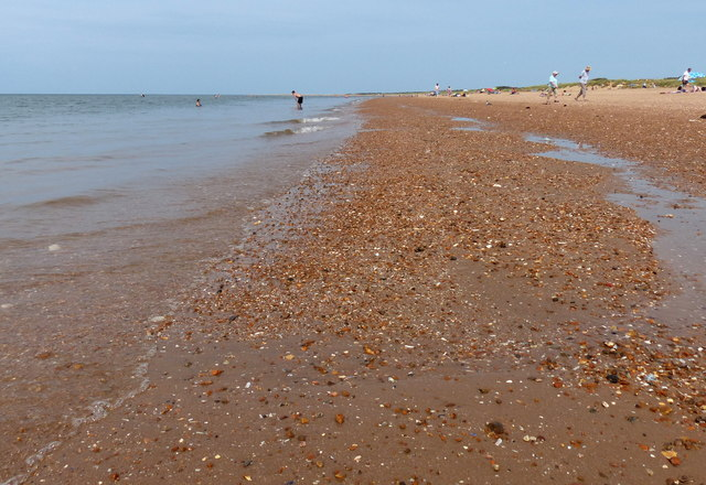 The beach at Old Hunstanton