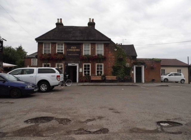 The Old Chequers on Gaddesden Row