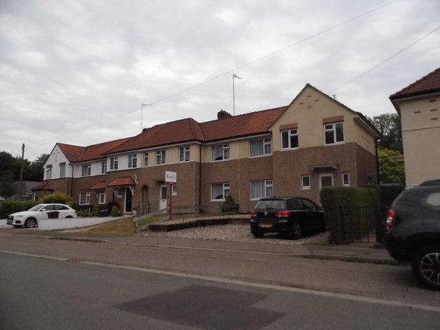 Terrace of houses on Hemel Hempstead Road