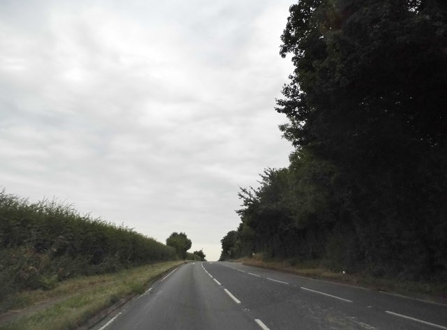 St Albans Road leaving Redbourn