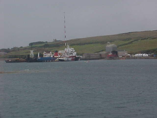 Pier at St Margaret's Hope