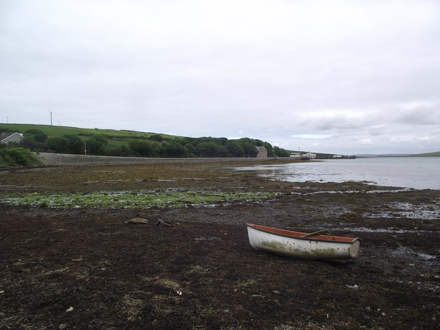 Foreshore at St Margaret's Hope