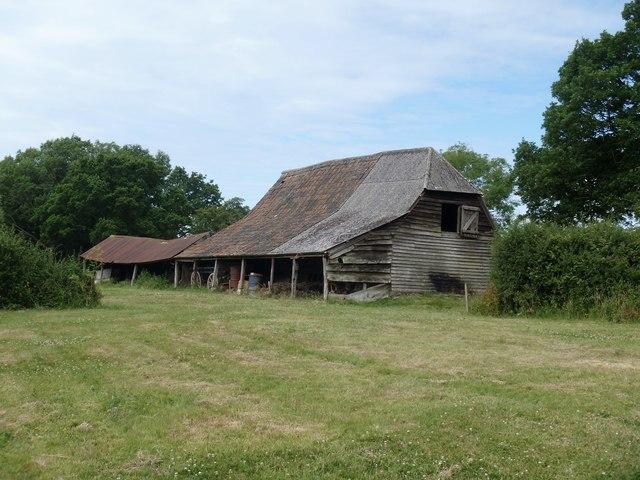 Tumbledown barn [1]