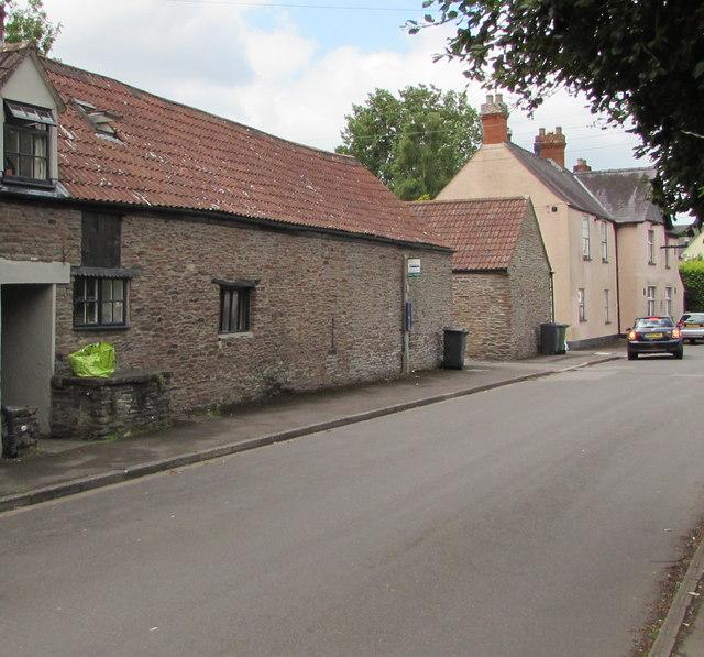 Parish Hall bus stop, High Street, Iron Acton