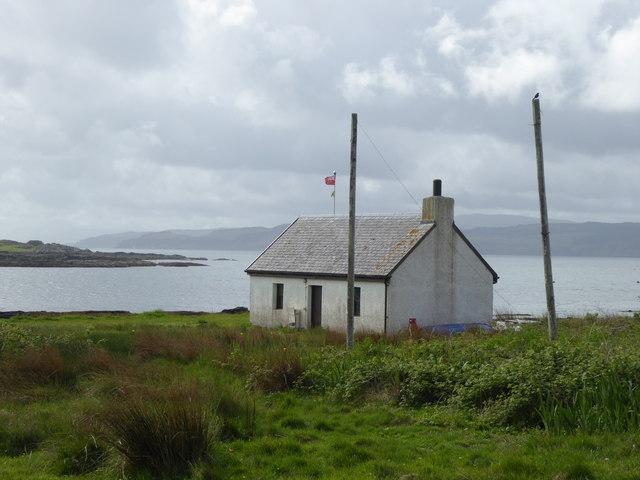 Boat house at Kilchoan