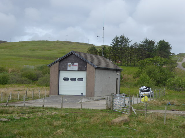 Fire station at Kilchoan