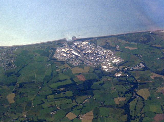 Sellafield from above the Lake District
