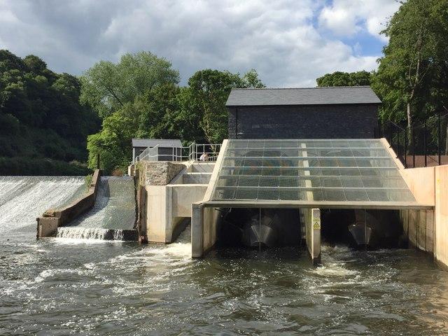 Radyr Weir Hydroelectric Scheme