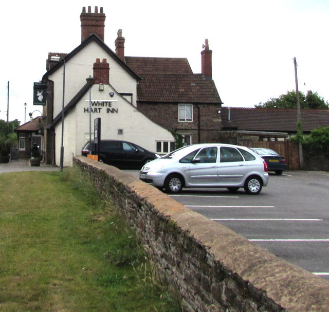 North side of the White Hart Inn, Iron Acton
