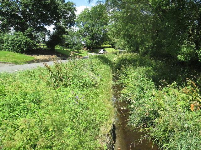 Farlington  Beck  alongside  road  to  Marton