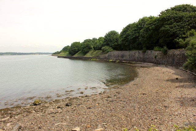 Small bay at Caernarfon