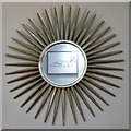 """NY9364 : Art Deco """"sunburst"""" mirror in the Forum Cinema by Mike Quinn"""