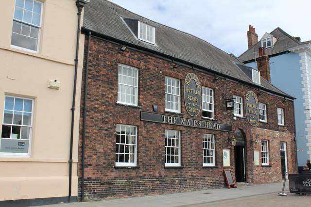 The Maids Head, 7 Tuesday Market Place, King's Lynn