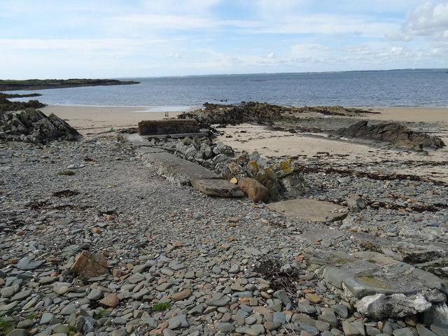 Barlooco beach Knockbrex Dumfries and Galloway