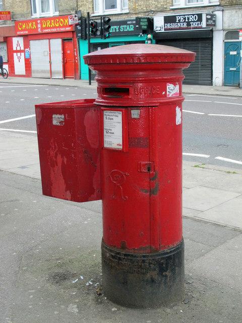 Victorian postbox, Seven Sisters Road / Albert Road, N15