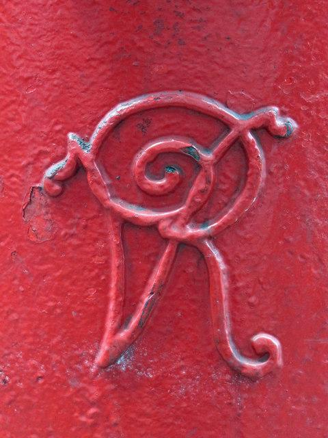 Victorian postbox, Seven Sisters Road / Albert Road, N15 - royal cipher