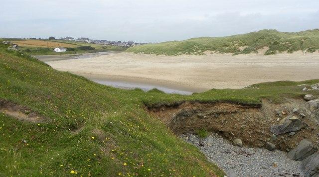 Into the estuary of Afon Ffraw