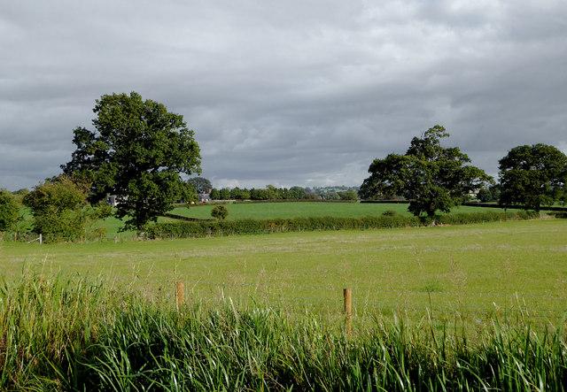 Farm land east of Lower Frankton, Shropshire