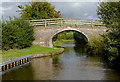 SJ3731 : Pryce's Bridge east of Lower Frankton, Shropshire by Roger  Kidd