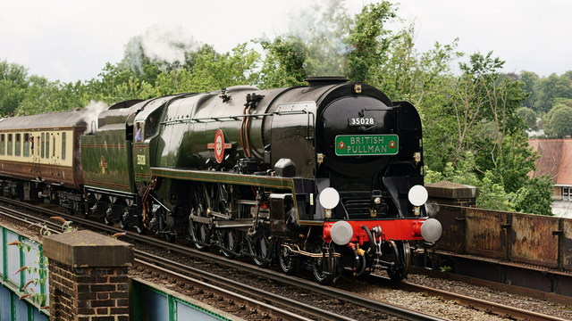 'Clan Line' at Purley