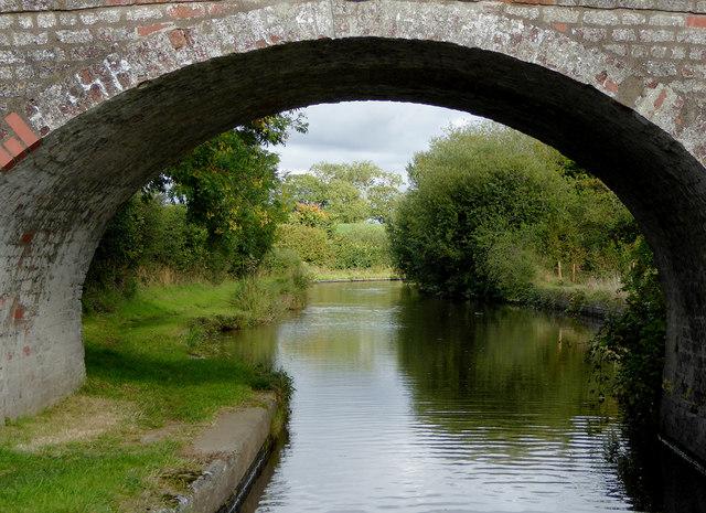 Llangollen Canal near Lower Frankton in Shropshire