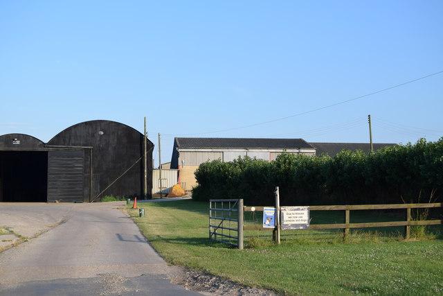 Farm buildings at Crondon Hall
