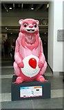 SP0686 : Birmingham Big Sleuth New Street Station Bear by Roy Hughes