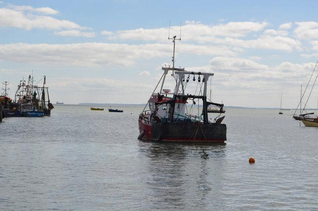 Fishing boat, Thames Estuary