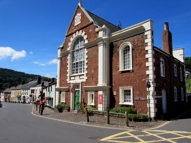Grade II listed Chapel House, Dunster