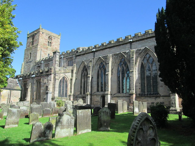 St Mary and All Saints Church, Checkley
