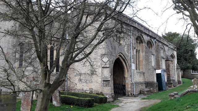 South aisle of St Kenelm's church, Enstone