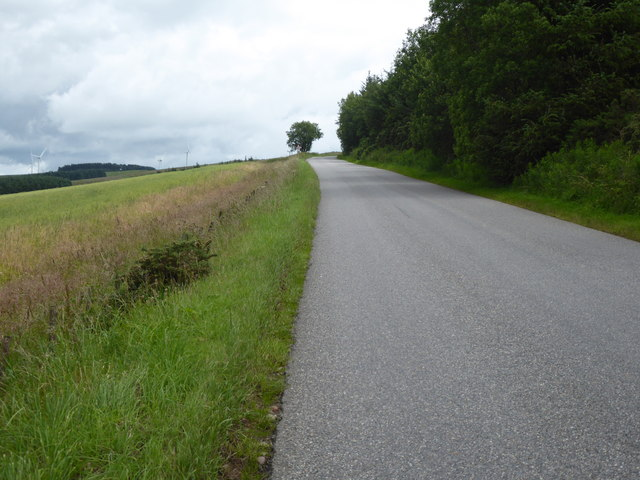 Ascending Hill of Garvock