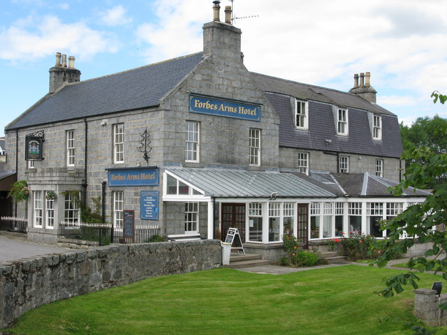 Forbes Arms Hotel, Bridge of Alford