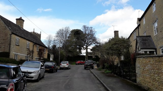 The way to the church, Enstone
