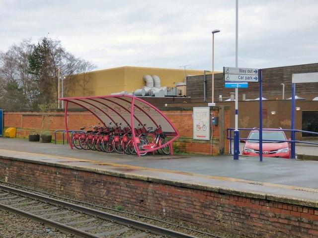 Bike & Go at Altrincham