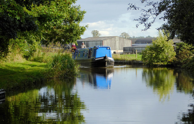 Llangollen Canal east  Lower Frankton in Shropshire