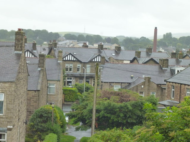 Barnoldswick:  View from 34 Frederick Street