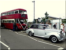 H4472 : Wedding vehicles, Omagh by Kenneth  Allen