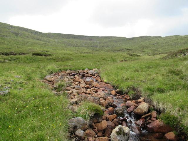Tributary of Allt Luaidhe above Speyside