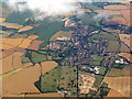 TL3530 : Buntingford from the air by M J Richardson