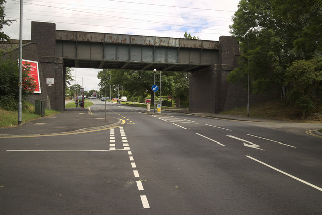 Railway Bridge, Beeston Ring Road