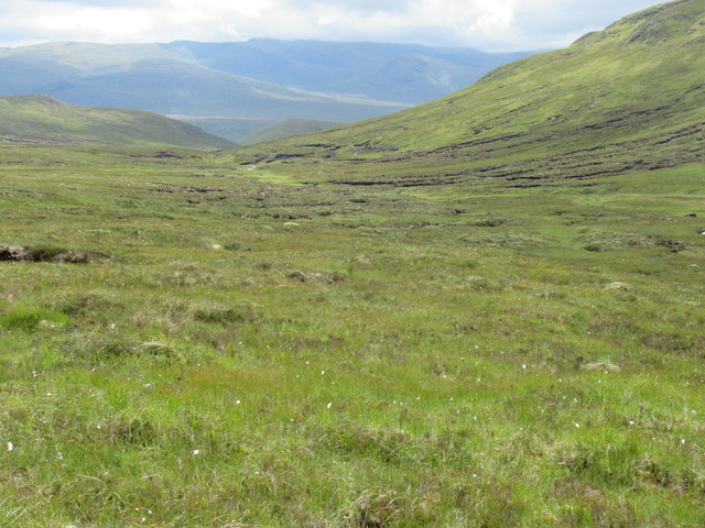 Floor of Min Choire east of Gairbeinn on upper Speyside