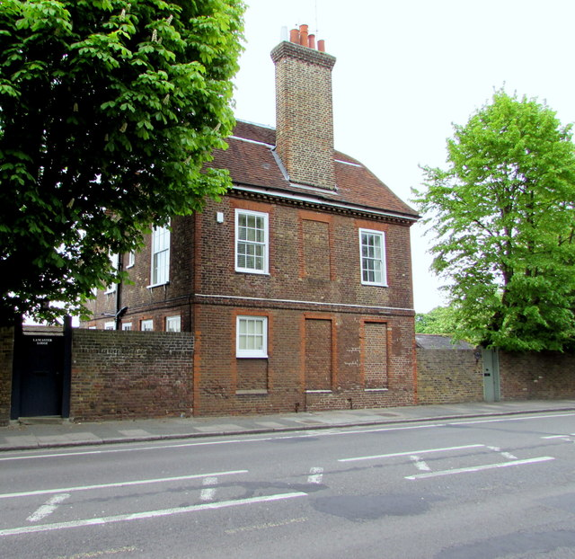 York Lodge and Lancaster Lodge, Hampton Court Road, East Molesey