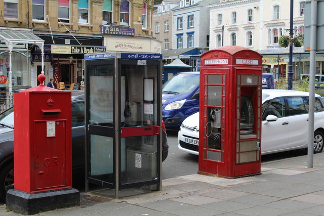 Pick a box - Evolution of technology on the High Street