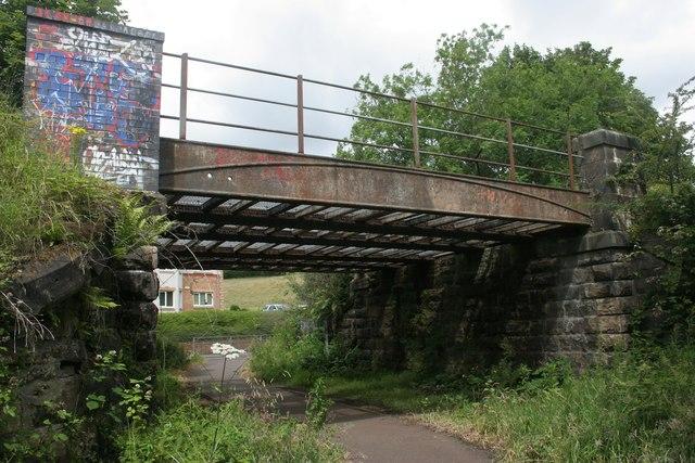 Railway bridge, Gateside