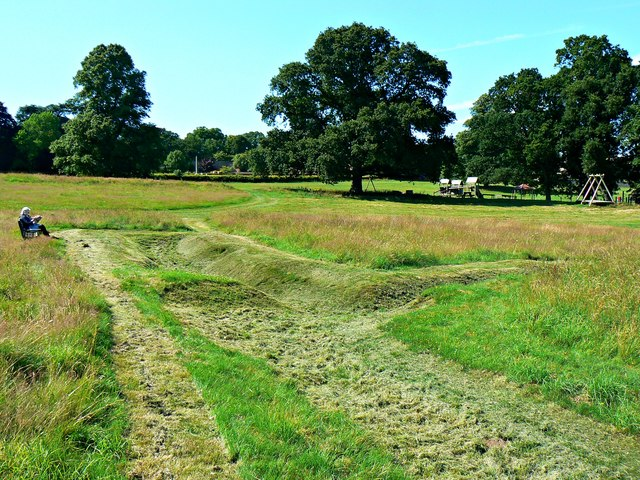 Trench system remains, Bodelwyddan Castle and Park (1)