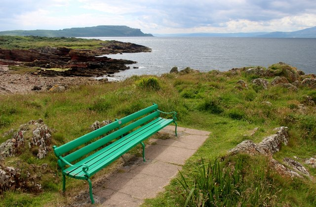 Viewpoint on the west shore of Great Cumbrae