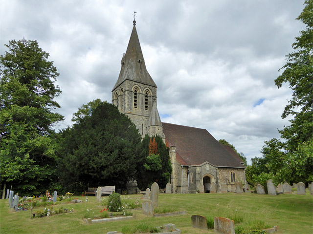 Wraysbury church